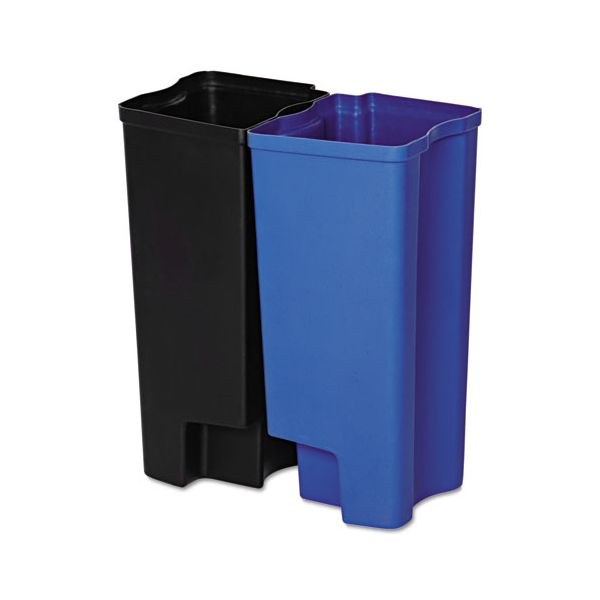 Rubbermaid Commercial Step-On Rigid Dual Liner For Stainless End Step