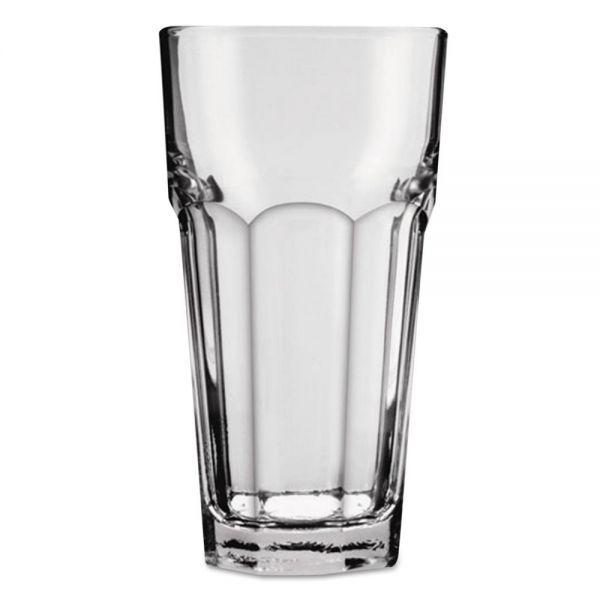 Anchor New Orleans Cooler Glass, Tall, 12 oz, Clear