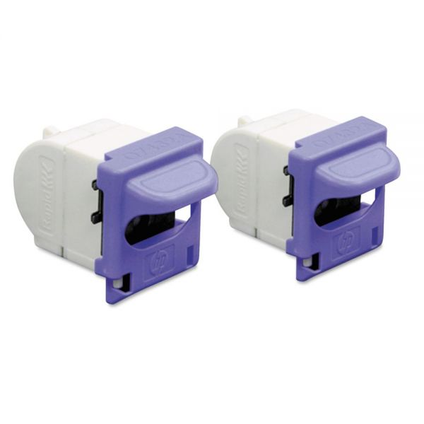 HP Staple Cartridge, CM3530; HP M3035, Two Cartridges Per Pack