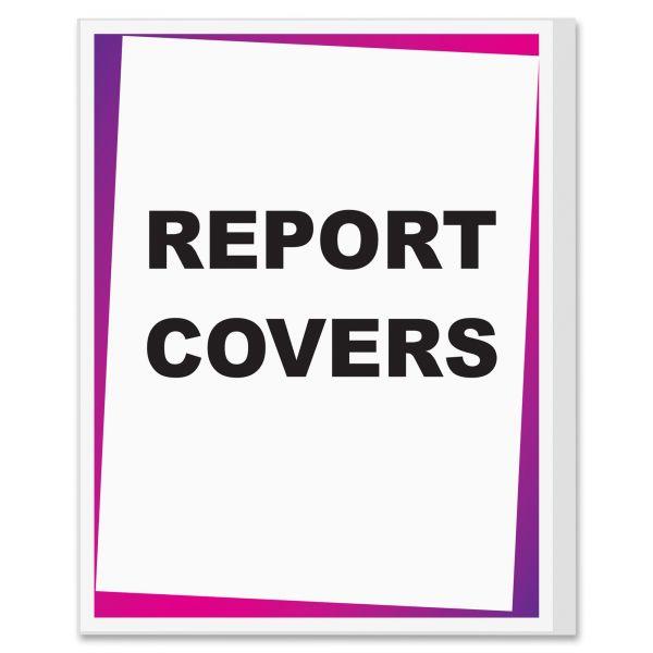 C-Line Economy Vinyl Report Cover Sheets