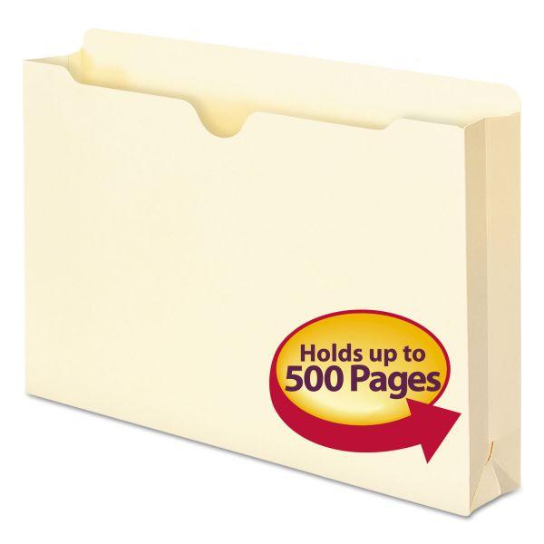Smead Manila File Jackets, Legal, 11 Point, Manila, 50/Box