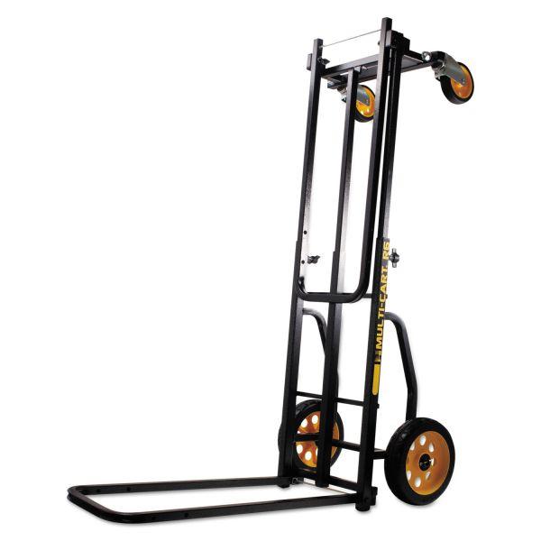 Advantus Multi-Cart 8-in-1 Cart, 500lb Capacity, 32 1/2 x 17 1/2 x 42 1/2, Black