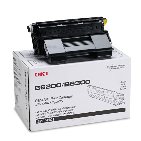 Oki 52114501 Black Toner Cartridge