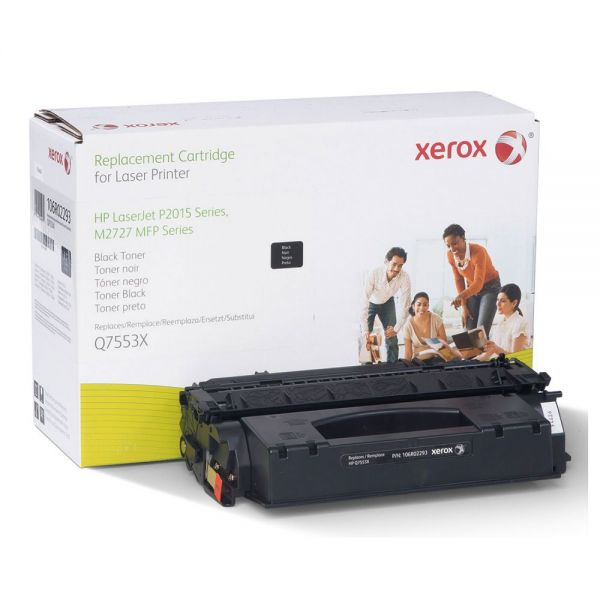Xerox Remanufactured HP Q7553X (106R2293) Extended Yield Toner Cartridge