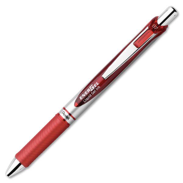 Pentel EnerGel Liquid Steel Tip Gel Pens
