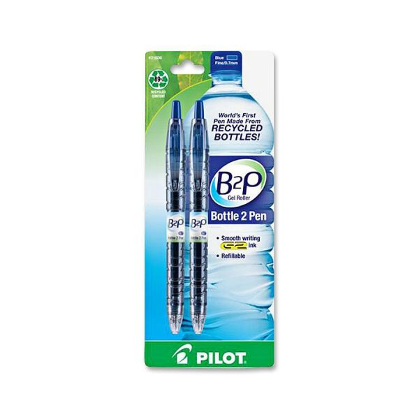Pilot BeGreen B2P Bottle Roller Ball Retractable Gel Pens