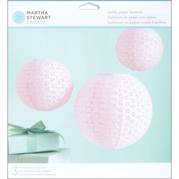 Vintage Girl Paper Lantern Kit Makes 3