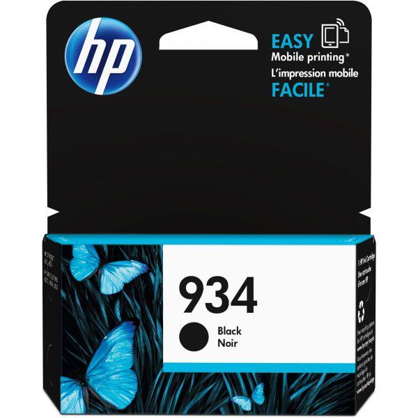 HP 934 Black Ink Cartridge (C2P19AN)