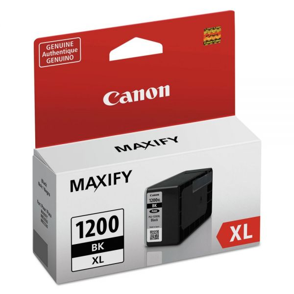 Canon PGI-1200XL Black High-Yield Ink Cartridge (9183B001)