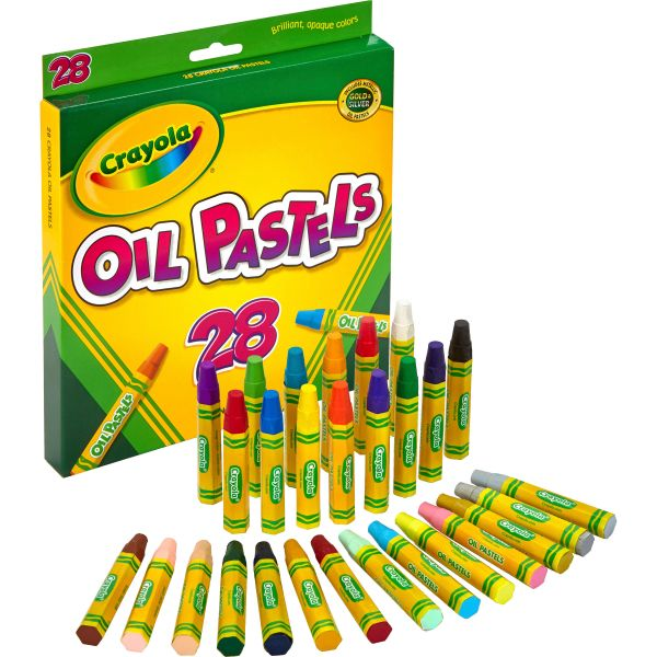 Crayola Jumbo-sized Oil Pestels