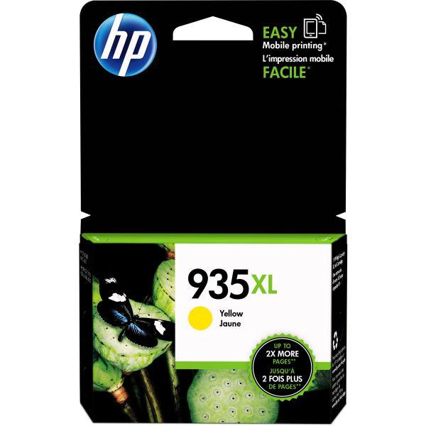 HP 935 XL High-Yield Yellow Ink Cartridge (C2P26AN)
