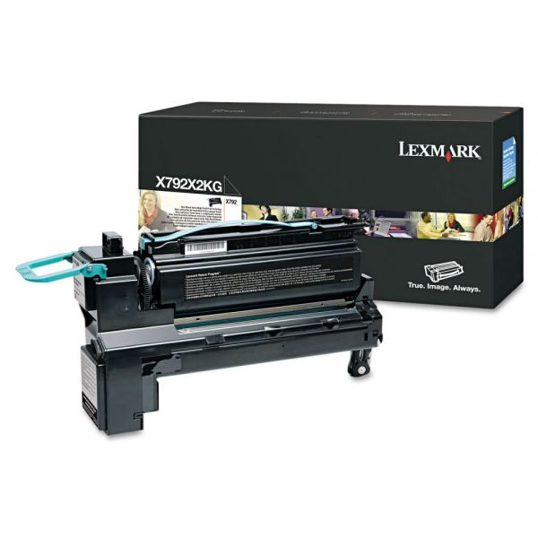 Lexmark X792X2KG Black Extra High Yield Toner Cartridge