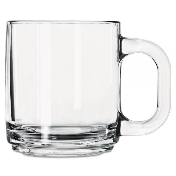 Libbey 10 oz Crystal Coffee Mug