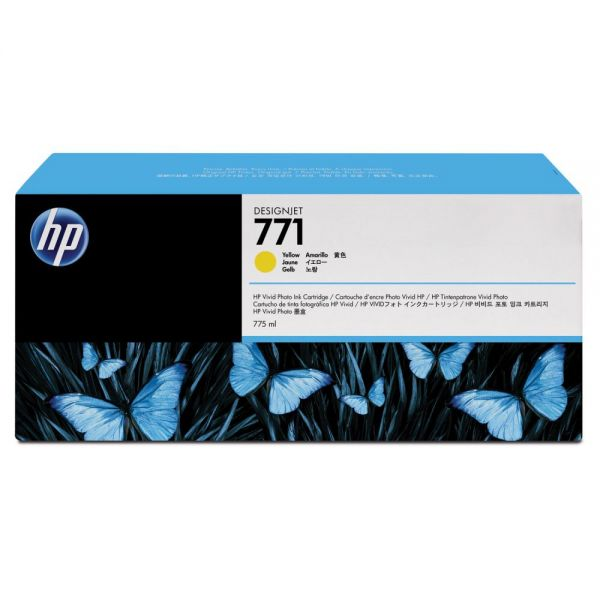 HP 771 Yellow Ink Cartridge (B6Y42A)