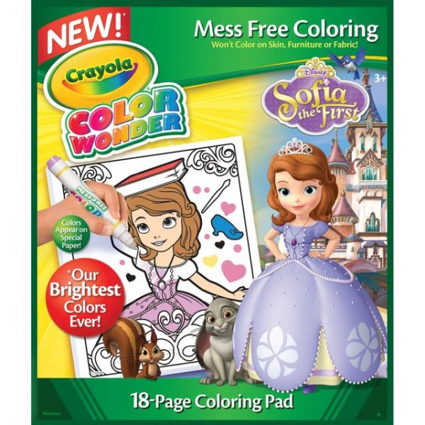Crayola Color Wonder Coloring Pad - 18 Pages