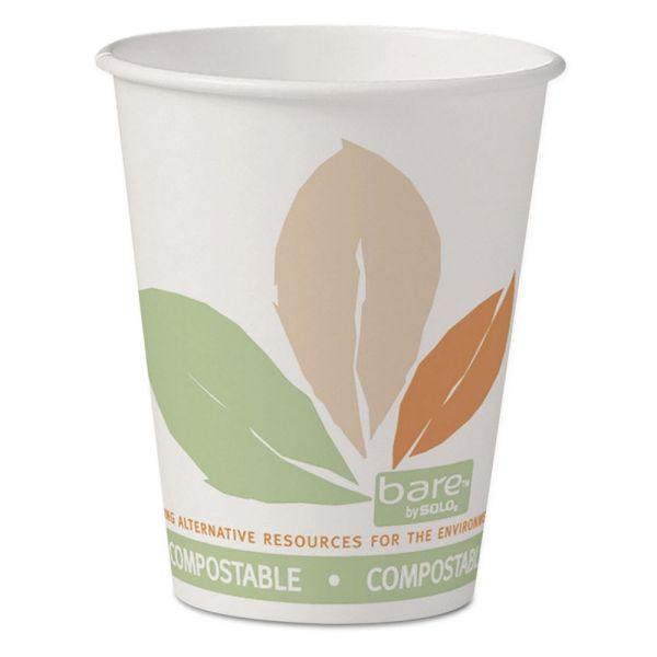 SOLO Cup Company Bare Eco-Forward PLA Paper Hot Cups