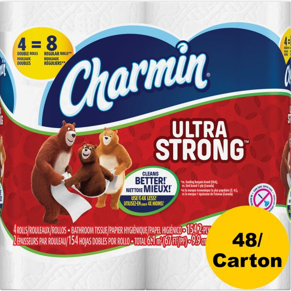 Charmin Ultra Strong 2 Ply Toilet Paper 48 rolls