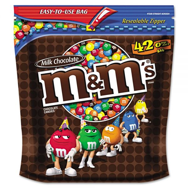 M & M's Milk Chocolate Bite Size Candy (2.625 lbs)
