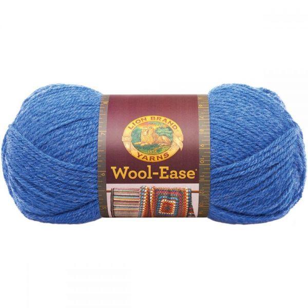 Lion Brand Wool-Ease Yarn - Blue Heather