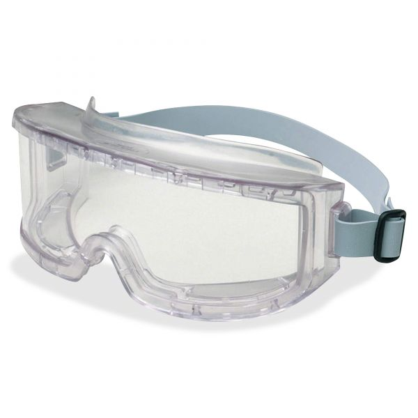 Uvex by Honeywell Futura Goggles, Clear Frame, Clear Lens, Impact/Dust-Resistant