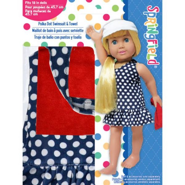 Springfield Collection Polka Dot Swimsuit