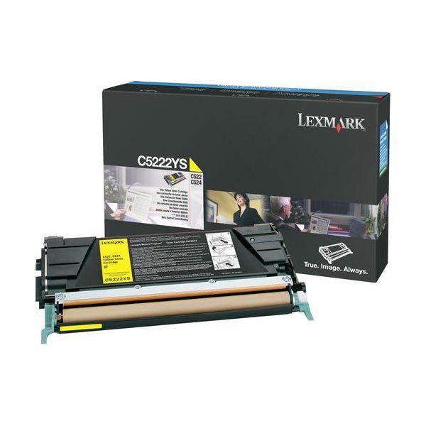 Lexmark C5222YS Yellow Toner Cartridge