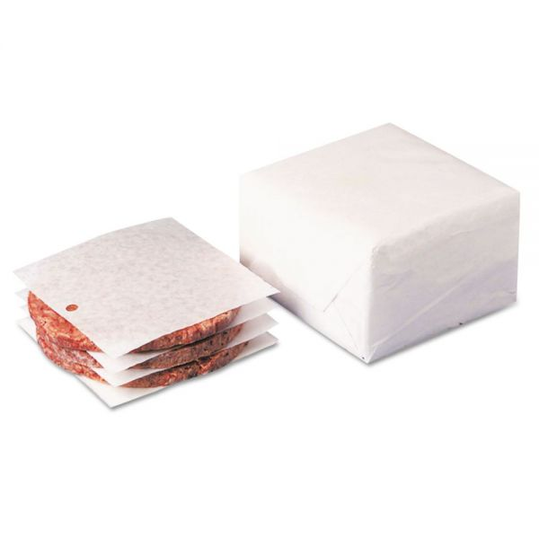 Dixie Dry Wax Laminated Patty Paper With Hole
