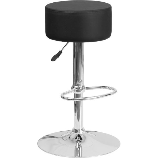 Flash Furniture Contemporary Adjustable Height Barstool