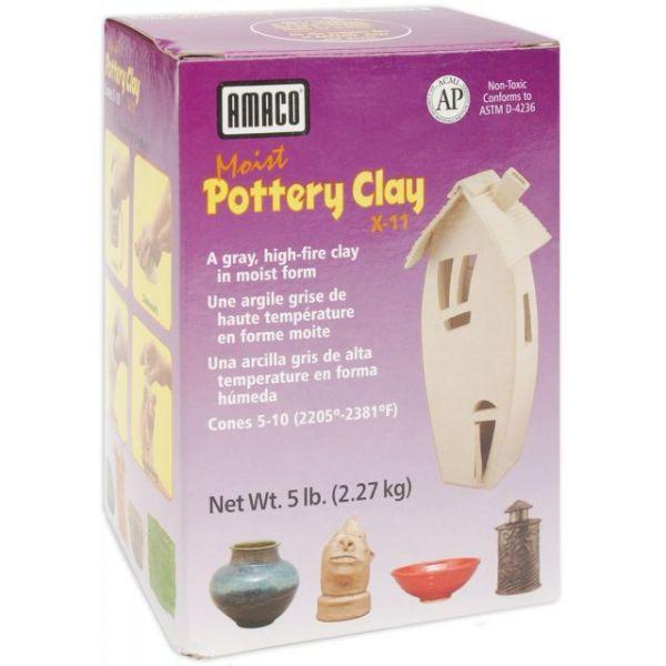 Moist Pottery Clay 5lb