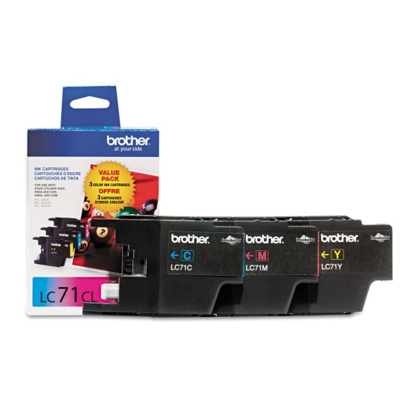 Brother LC71CL Color Ink Cartridges