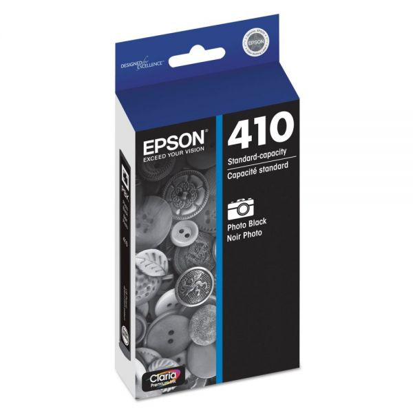 Epson 410 Photo Black Ink Cartridge (T410120)