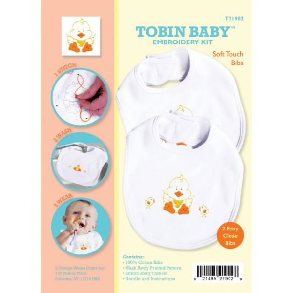Duck Soft Touch Bibs Embroidery Kit