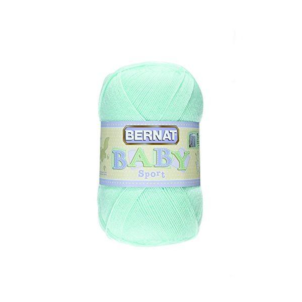 Bernat Baby Sport Big Ball Yarn - Baby Green