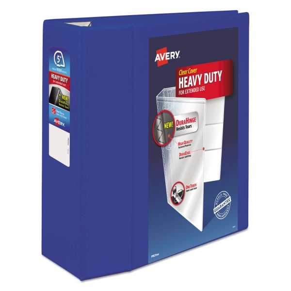 "Avery Heavy-Duty 5"" 3-Ring View Binder"