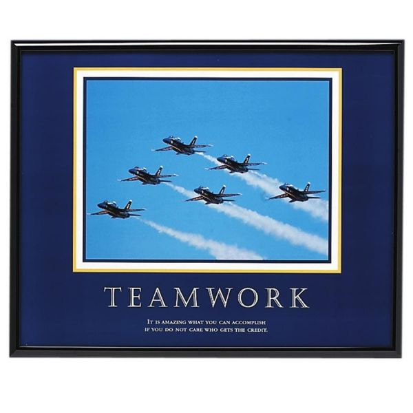 Advantus Decorative Motivational Teamwork Poster