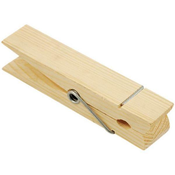 Wood Jumbo Clothespin
