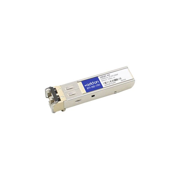 AddOn HP J4858C Compatible 1000Base-SX SFP Transceiver (MMF, 850nm, 550m, LC)
