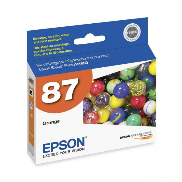 Epson 87 Orange Ink Cartridge (T087920)