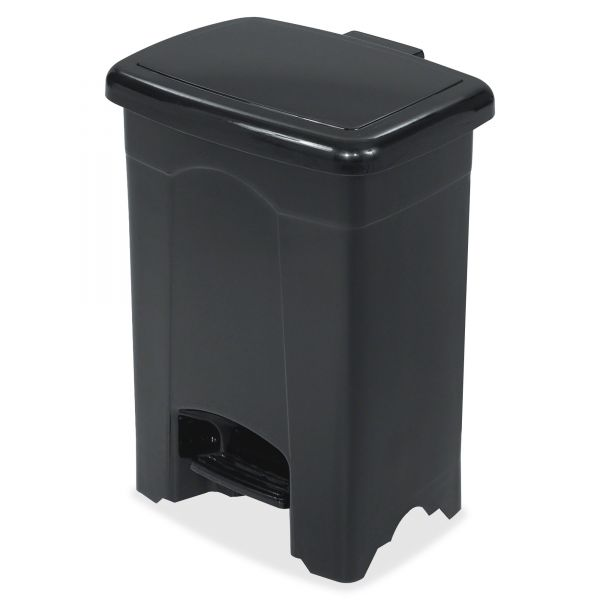 Safco Step-On 4 Gallon Trash Can With Lid
