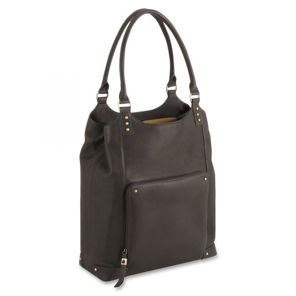 """Solo Vintage VTA804-3 Carrying Case (Tote) for 16"""" Notebook - Brown"""