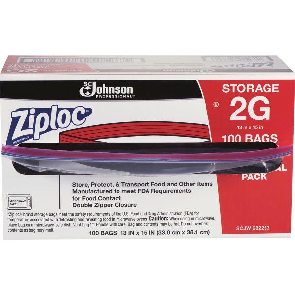 Ziploc Double Zipper Foodservice Storage Bags