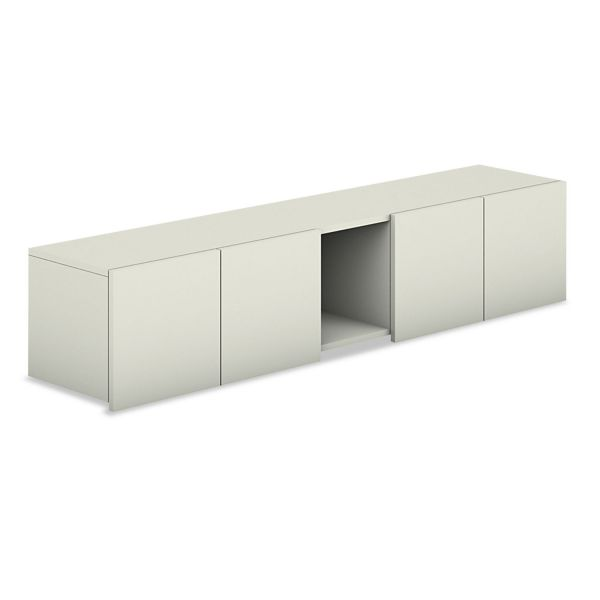 "HON Voi Overhead Cabinet | 4 Doors with 12"" Cubbie | 72""W"