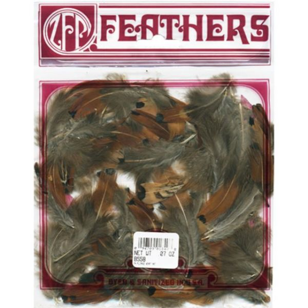 Pheasant Plumage Heart Feathers .07oz