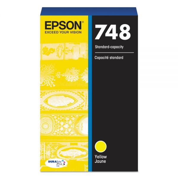 Epson 748 Yellow Ink Cartridge (T748420)