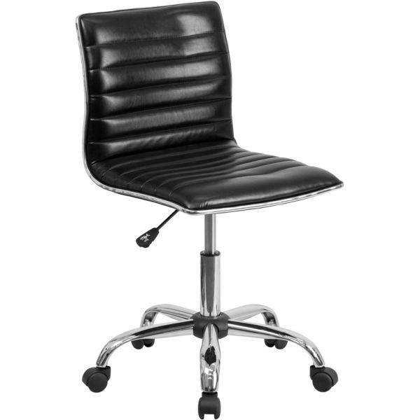Flash Furniture Low Back Ribbed Designer Task Chair
