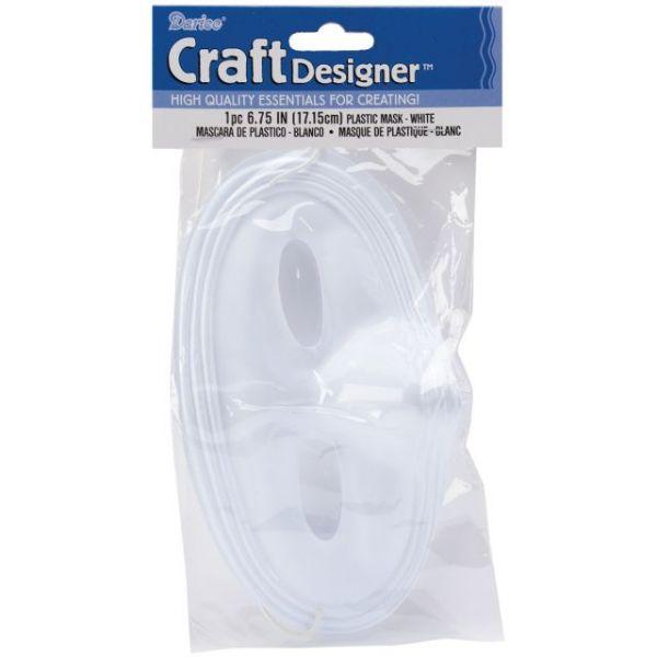 "PVC Half Face Mask Form 6.75"""