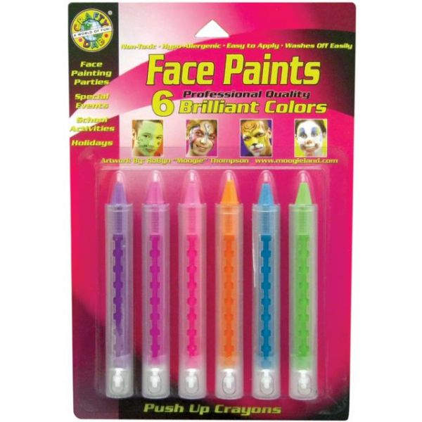 Face Paint Push Up Crayons