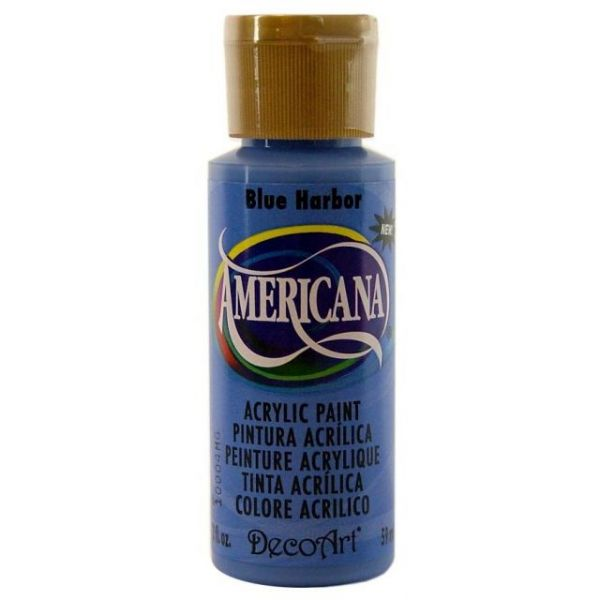 Deco Art Americana Blue Harbor Acrylic Paint