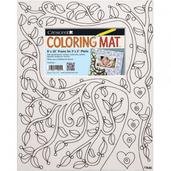 "Crescent Coloring Mat 8""X10"""