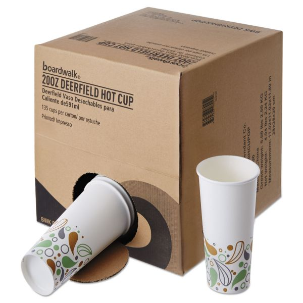 Boardwalk Convenience Pack 20 oz Paper Coffee Cups